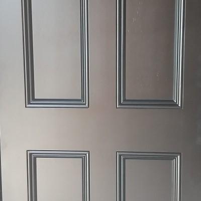 RESURFACED ENTRANCE DOOR 2.
